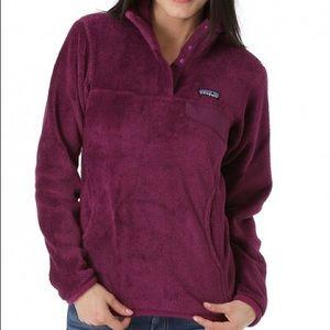 Purple Patagonia Retool Snap-T Pullover